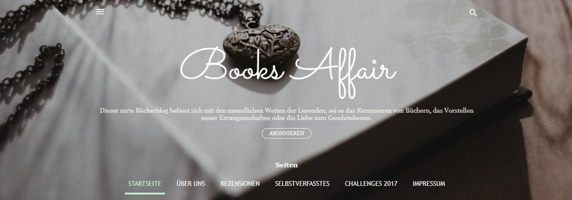 Books Affair | Buchblog-Award 2017