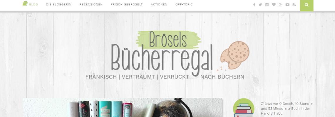 Brösels Bücherregal | Buchblog-Award 2017