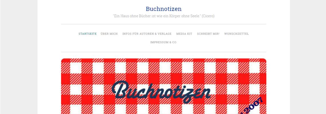 Buchnotizen | Buchblog-Award 2017