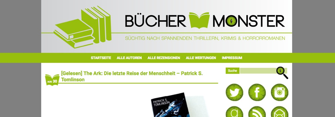 Buecher Monster | Buchblog-Award 2017