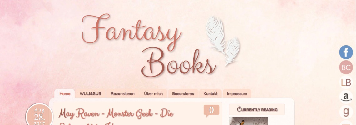 Fantasy Books   Buchblog-Award 2017