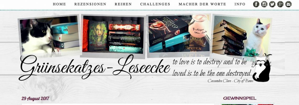 Griinsekatzes Leseecke | Buchblog-Award 2017