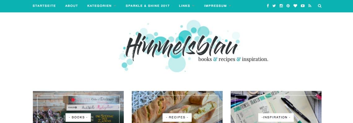 Himmelsblau | Buchblog-Award 2017