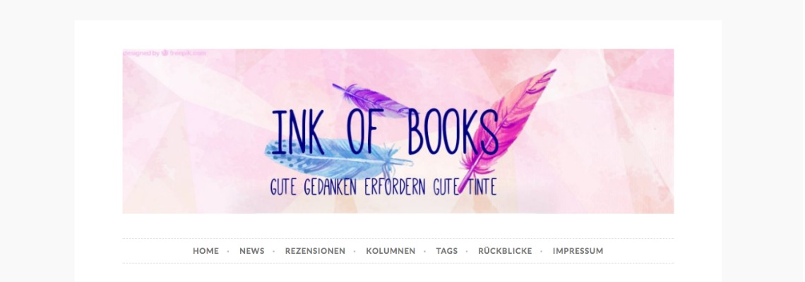 Ink of Books | Buchblog-Award 2017