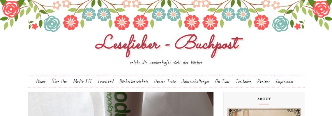 Lesefieber Buchpost | Buchblog-Award 2017