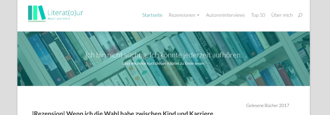 Literatour   Buchblog-Award 2017