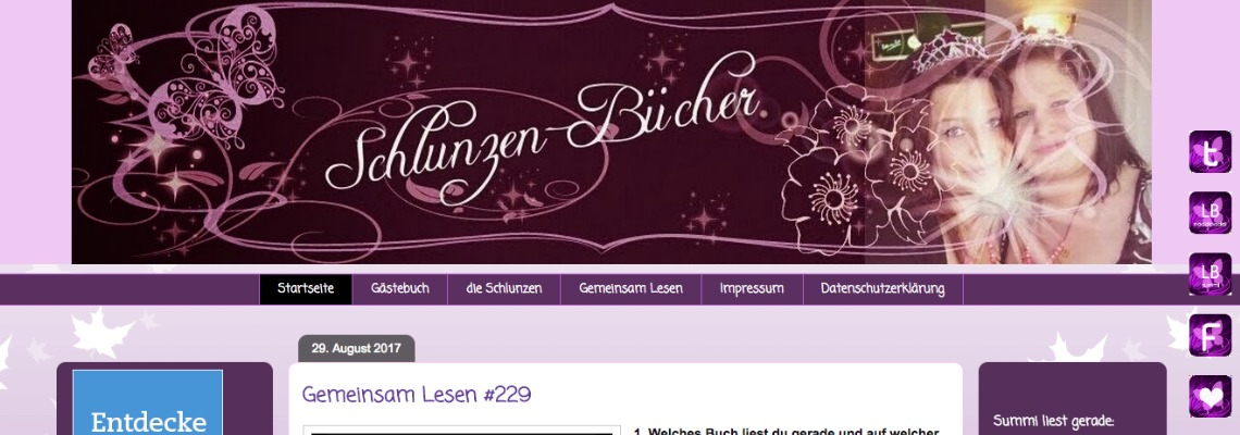 Schlunzen-Buecher | Buchblog-Award 2017