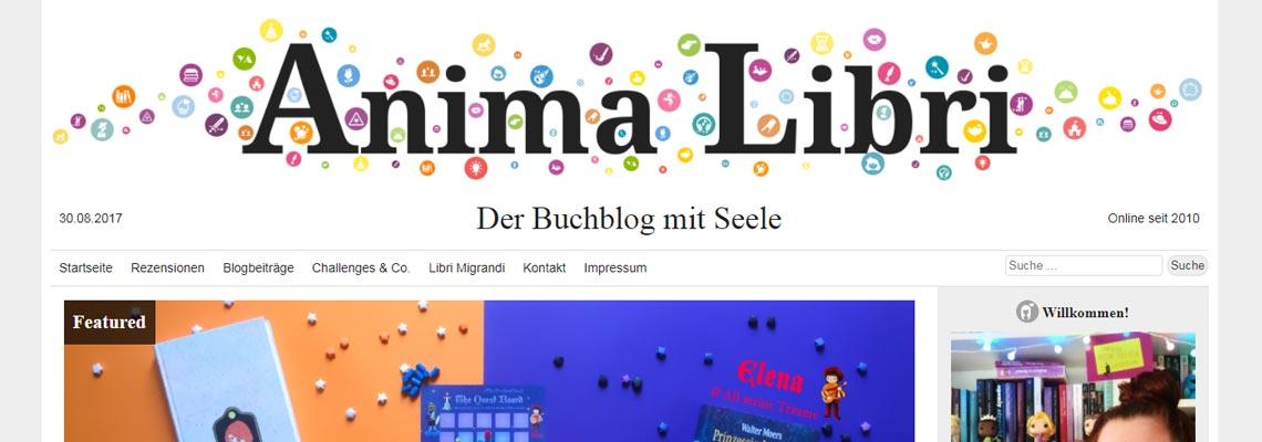 Anima Libri | Buchblog-Award 2017