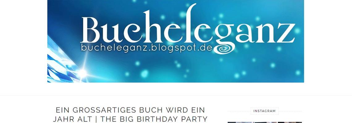Bucheleganz | Buchblog-Award 2017