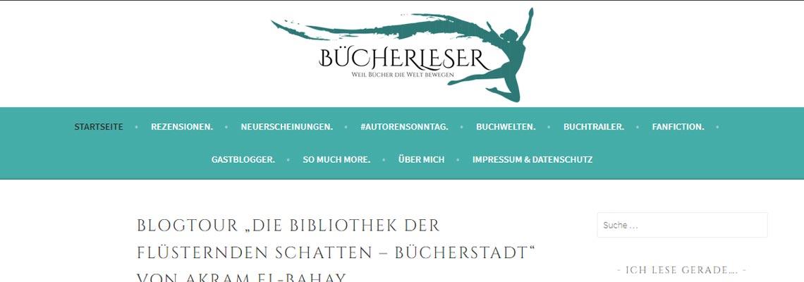 Bücherleser | Buchblog-Award 2017