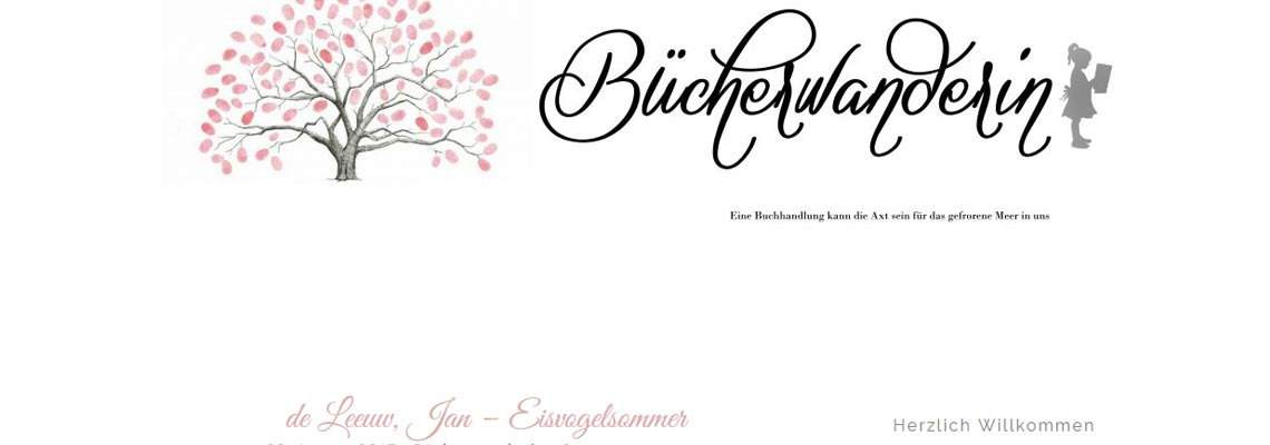 Bücherwandering   Buchblog-Award 2017
