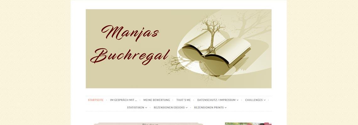Manjas Buchregal | Buchblog-Award 2017
