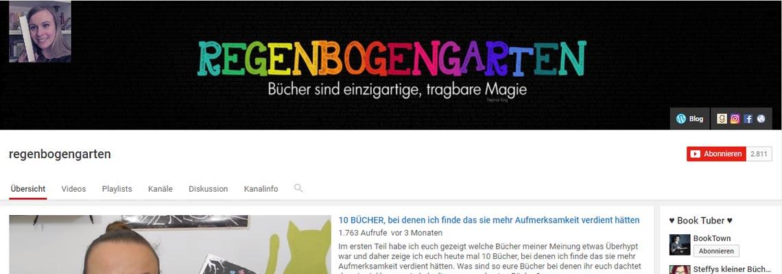 Regenbogengarten | Buchblog-Award 2017
