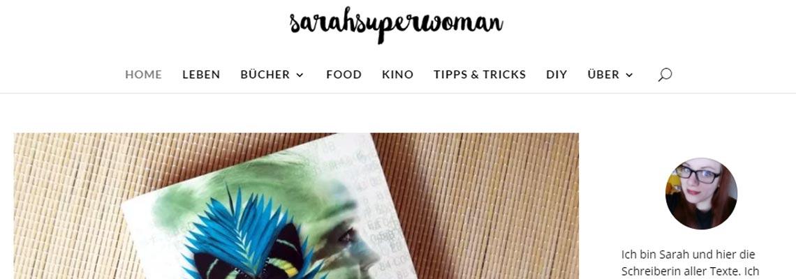 sarahsuperwoman | Buchblog-Award 2017