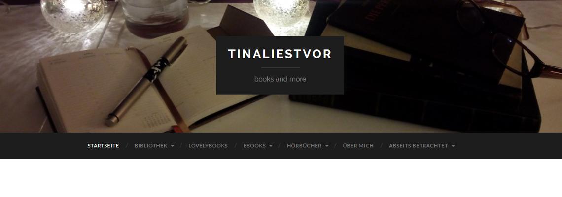 tinaliestvor | Buchblog-Award 2017