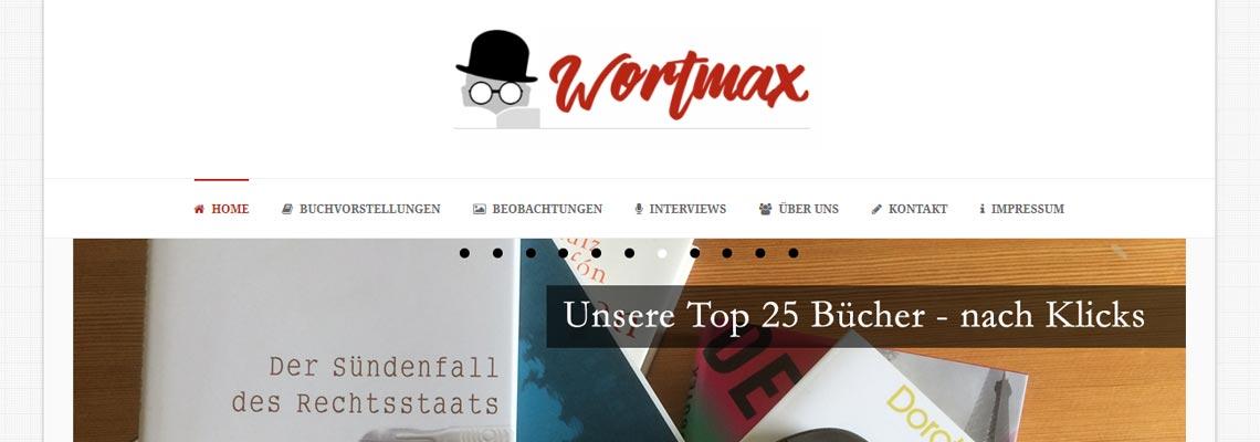 Wortmax | Buchblog-Award 2017
