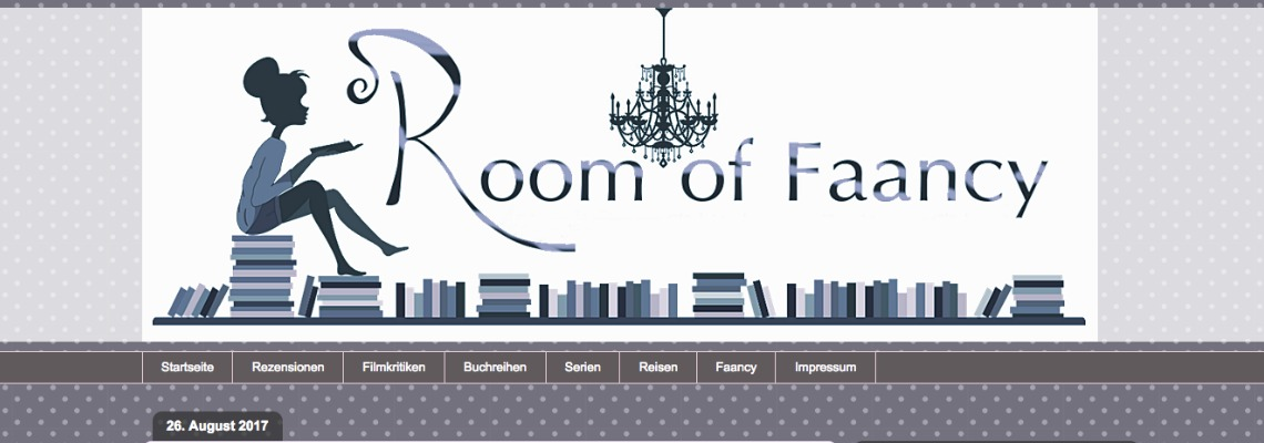 Room of Faancy | Buchblog-Award 2017