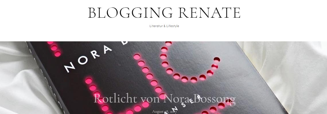 Blogging Renate | Buchblog-Award 2017