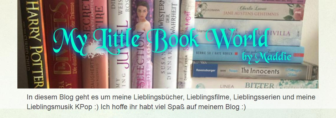 My little Book World | Buchblog-Award 2017